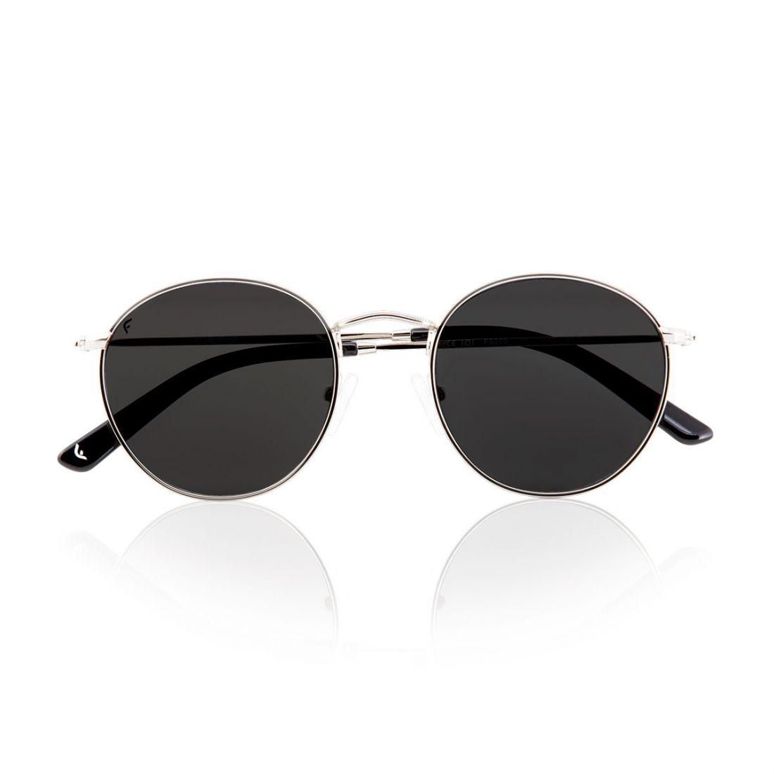 Nobody occhiali da sole in metallo lenti tonde verde nero for Occhiali da sole montatura in legno