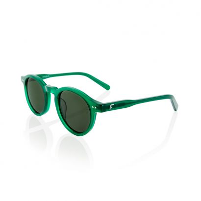 Stay - green acetate frame with polarized green lenses