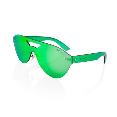 Sirius occhiali da sole lenti e montatura colore verde
