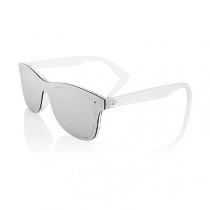 SUNGLASSES MAGNETIC - SILVER MIRROR LENS