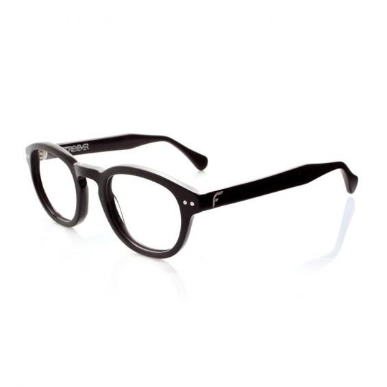 Deep Black - montatura in acetato per occhiali da vista