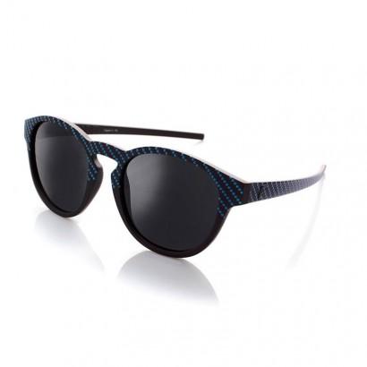 VERTIGO BLUE - with black polarized lenses