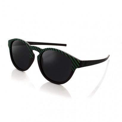 VERTIGO GREEN - with black polarized lenses