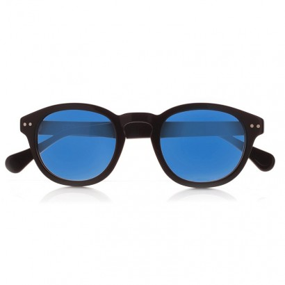 DEEP BLACK - with blue polarized lenses