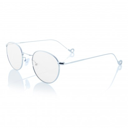 Silver One - prescription glasses silver stainless steel frame