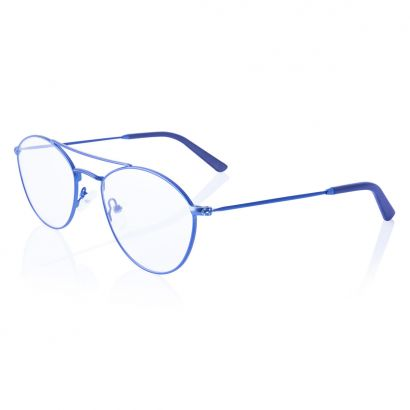 Indecision - glasses metal frame - blue