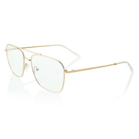 NO POP - glasses metal frame - gold color