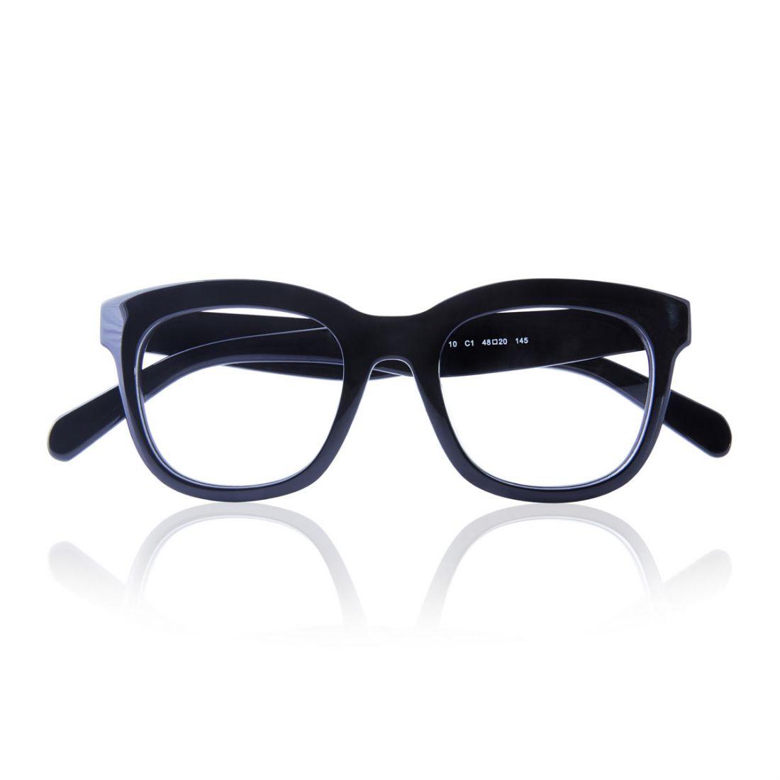Glasses Acetate Frame Black And Havana Color For