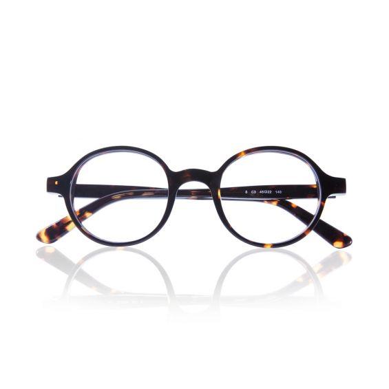 Runaway - montatura in acetato per occhiali da vista - havana