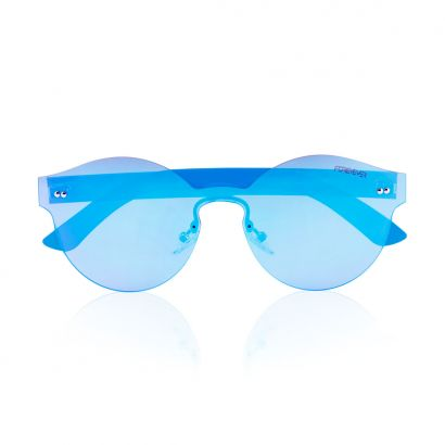 Antares sunglasses with blue frame and lenses