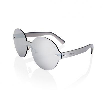 Rigel occhiali da sole con lenti e montatura argento