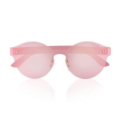 Rigel occhiali da sole con lenti e montatura rosa