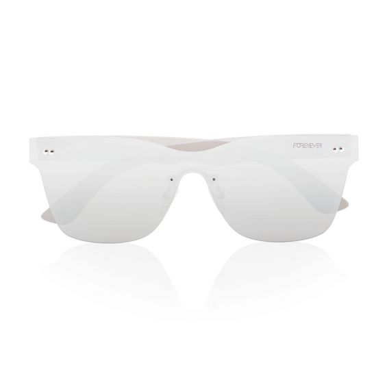 Spica silver lens and frame sunglasses