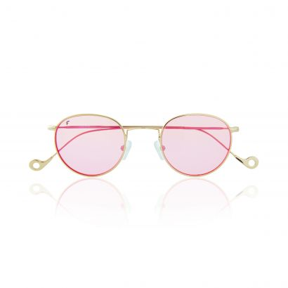 GOLD ONE - PINK LENSES