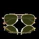 VOYAGER oro con lenti verdi polarizzate