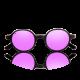 Runaway con lenti polarizzate rosa specchiate