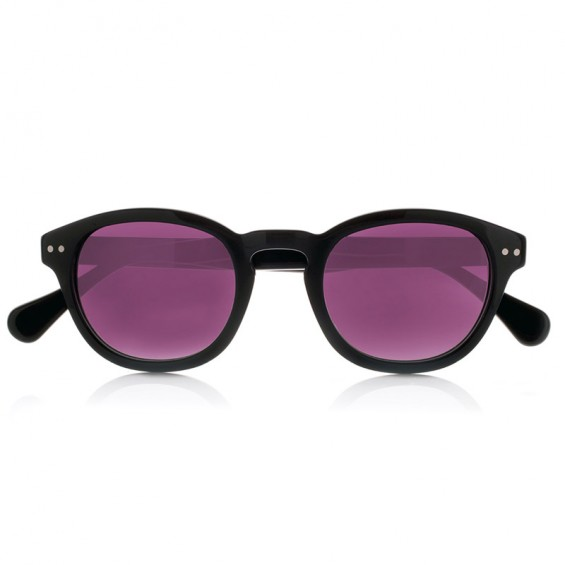 DEEP BLACK - with purple polarized